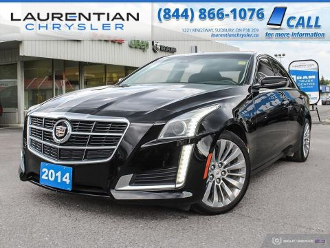 Pre-Owned 2014 Cadillac CTS Sedan LUXURY - DRIVE AWD CAPABILITY WITH AMAZING STYLING !!