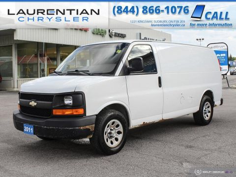 Pre-Owned 2011 Chevrolet Express Cargo Van CARGO -CERTIFIED!!