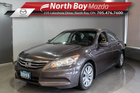 Pre-Owned 2011 Honda Accord EX-L with Heated Seats, Bluetooth, Sunroof FWD 4dr Car