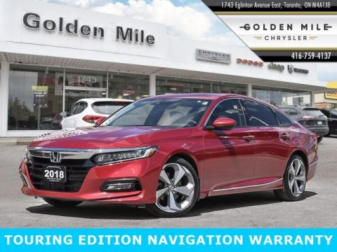Pre-Owned 2018 Honda Accord Sedan Touring CERTIFIED