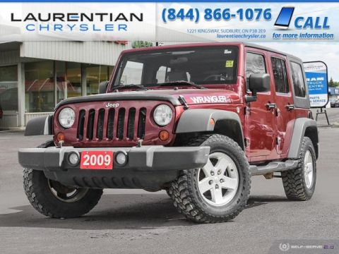 Pre-Owned 2009 Jeep Wrangler Unlimited X - JOIN THE JEEP OUTDOOR ADVENTURE !!