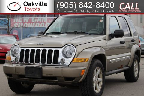 Pre-Owned 2005 Jeep Liberty Limited 4WD with Clean Carfax and Single Owner | SELF CERTIFY