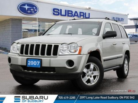 Pre-Owned 2007 JEEP Grand Cherokee Laredo - SELF CERTIFY