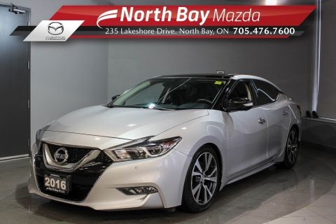 Pre-Owned 2016 Nissan Maxima Platinum with Heated Seats, Sunroof, Fast Rims! With Navigation