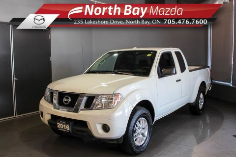 Pre-Owned 2016 Nissan Frontier SV 4X4 with Bluetooth, New Brakes and Tires!