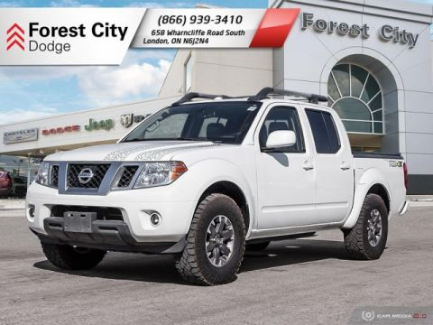 Pre-Owned 2014 Nissan Frontier PRO-4X | Leather Interior | Back-up Cam | NAV