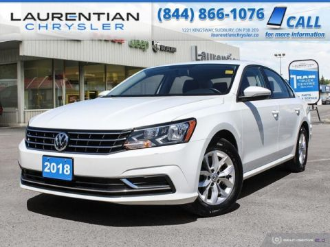 Pre-Owned 2018 Volkswagen Passat Trendline+ - COMPACT AND SPORTY WITH VW STYLE !!