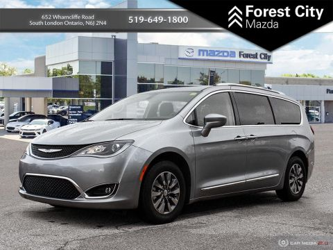 Pre-Owned 2019 Chrysler Pacifica Touring-L Plus | Leather Interior | Lots of storage | NAV | Back-Up Cam With Navigation