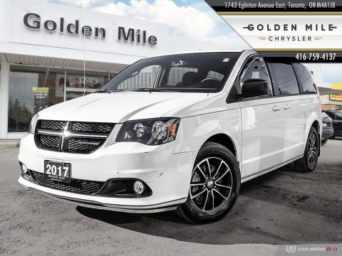 Pre-Owned 2017 Dodge Grand Caravan SXT Plus, Alloys, Bluetooth, Gold Plan