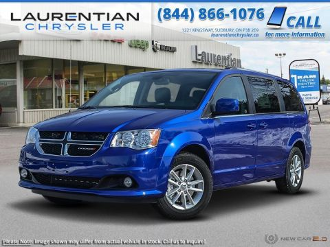 Pre-Owned 2019 Dodge Grand Caravan SXT Premium Plus FWD Mini-van, Passenger