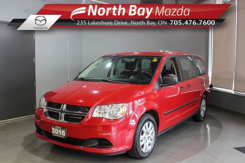 Pre-Owned 2016 Dodge Grand Caravan CVP with Eco Mode, Cruise, Sto'N Go