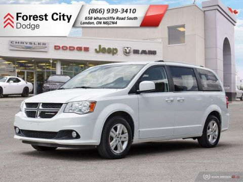 Pre-Owned 2018 Dodge Grand Caravan Crew Plus