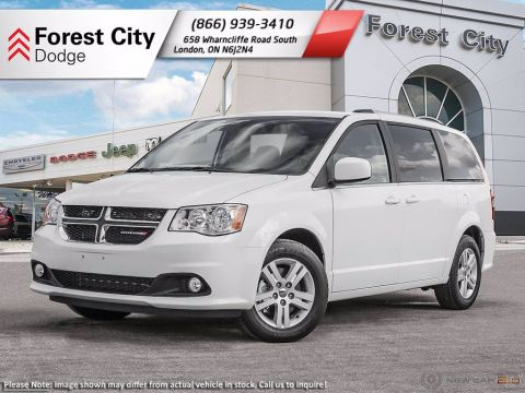 Pre-Owned 2019 Dodge Grand Caravan DEMO | CREW PLUS | KEYLESS ENTRY | REAR VIEW CAM | DVD