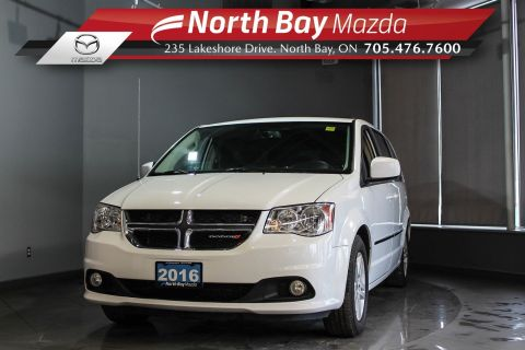 Pre-Owned 2016 Dodge Grand Caravan Crew Plus with Stow N Go, Bluetooth and Cruise