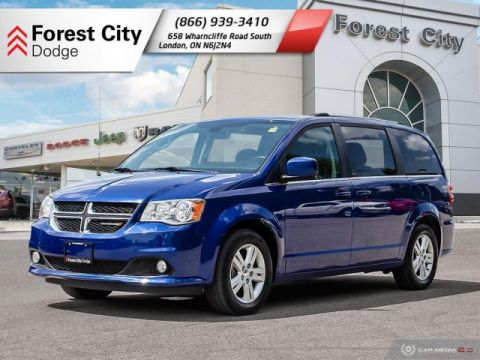 Pre-Owned 2018 Dodge Grand Caravan Crew Plus | Leather Interior | Back-up Cam