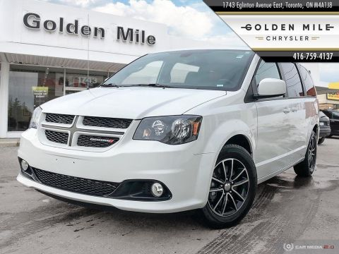 Pre-Owned 2019 Dodge Grand Caravan GT Leather|Alloys|Clean Carfax|Back-Up Cam