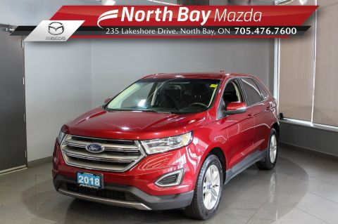 Pre-Owned 2018 Ford Edge SEL AWD with Heated Seats, Bluetooth, Cruise AWD