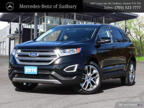 Pre-Owned 2016 Ford Edge Titanium - FULLY LOADED - AWD SUV - PERFECT FAMILY VEHICLE