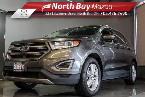 Pre-Owned 2015 Ford Edge SEL AWD with Bluetooth, Heated Seats, Parking Sensors AWD