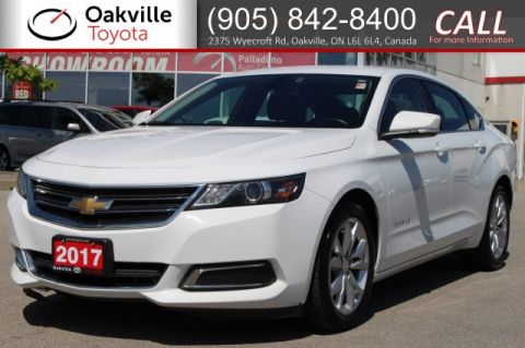 Pre-Owned 2017 Chevrolet Impala LT with Clean Carfax