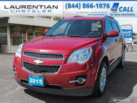 Pre-Owned 2015 Chevrolet Equinox LT - TONS OF SPACE, AWD, SUV !!