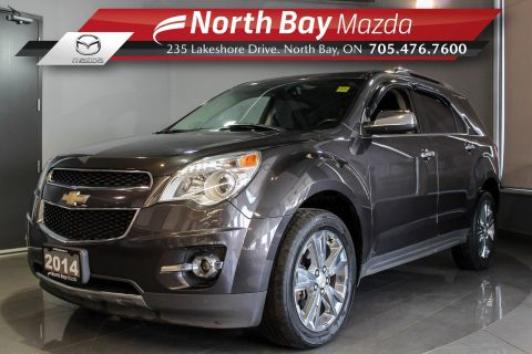 Pre-Owned 2014 Chevrolet Equinox LTZ AWD with Bluetooth, Heated Seats, Cruise