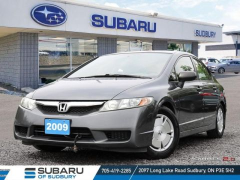 Pre-Owned 2009 Honda CIVIC DX-G- SELF CERTIFY