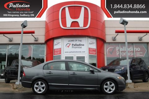 Pre-Owned 2009 Honda Civic Sdn Sport-CERTIFIED