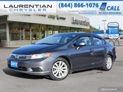 Pre-Owned 2012 Honda Civic Sdn EX - SELF CERTIFY !