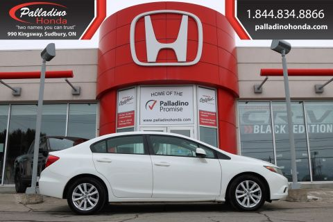 Pre-Owned 2012 Honda Civic Sdn EX- CERTIFIED