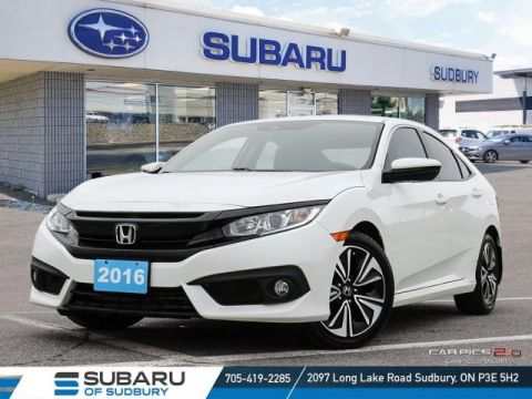 Pre-Owned 2016 Honda CIVIC EX-T - 2.0L TURBO - BRAND NEW BRAKES ALL AROUND!!!