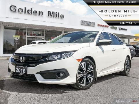 Pre-Owned 2016 Honda Civic Sedan EX-t| Low KM|Sunroof|Back up Cam