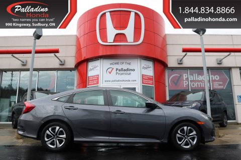 Pre-Owned 2017 Honda Civic Sedan LX-HEATED SEATS, BACKUP CAMERA, BLUETOOTH