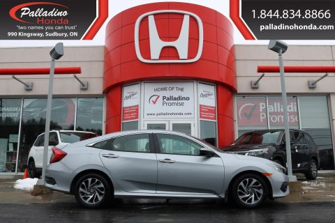 Pre-Owned 2018 Honda Civic Sedan SE-Honda SENSING,SMARTPHONE INTEGRATION,HEATED SEATS FWD 4dr Car
