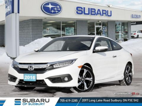 Pre-Owned 2016 Honda Civic Touring - FULLY LOADED - NAV - LEATHER - BLIND SPOT DISPLAY - SUN ROOF