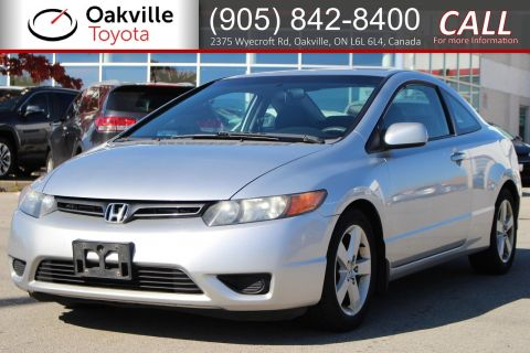 Pre-Owned 2008 Honda Civic Cpe LX with Clean Carfax | SELF CERTIFY