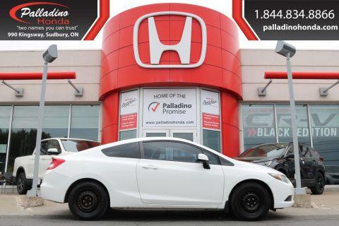 Pre-Owned 2013 Honda Civic Cpe LX-AS/IS