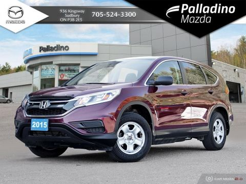 Pre-Owned 2015 Honda CR-V LX - GREAT STARTER VEHICLE - AWD - CERTIFIED