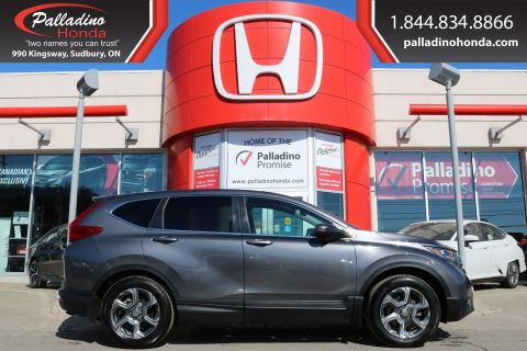 Pre-Owned 2018 Honda CR-V EX-L-ALL WHEEL DRIVE,TURBOCHARGED,KEYLESS START