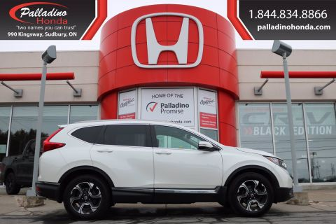 Pre-Owned 2017 Honda CR-V Touring-ALL WHEEL DRIVE, REMOTE START
