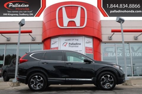 Pre-Owned 2017 Honda CR-V Touring-THIS Honda CR-V IS A SAFETY SUPERSTAR!