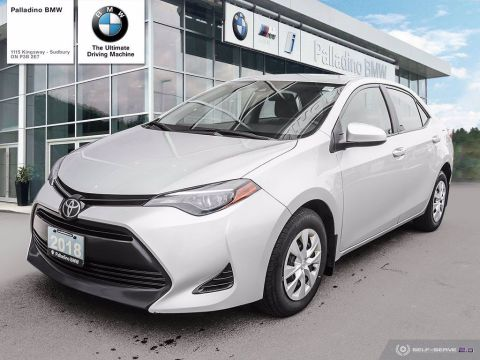 Pre-Owned 2018 Toyota Corolla CE - GREAT FUEL ECONOMY, RESALE VALUE, SAFE & RELIABLE