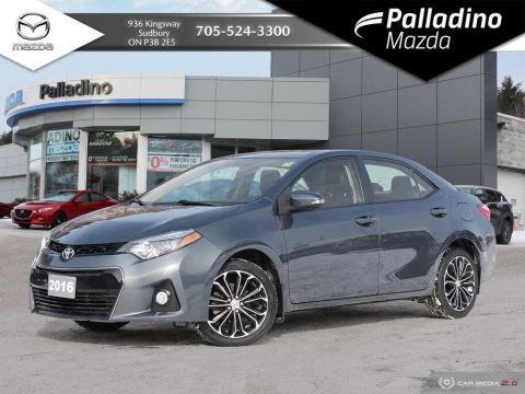Pre-Owned 2016 Toyota Corolla S - LOW MILEAGE - UNDER $70 WEEKLY OVER 84 MONTHS FWD 4dr Car