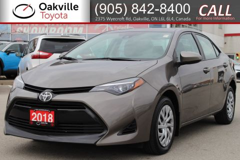 Certified Pre-Owned 2018 Toyota Corolla LE with Clean Carfax