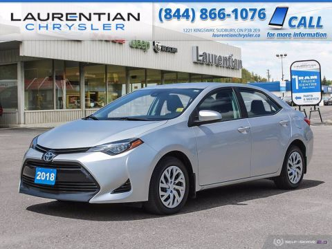 Pre-Owned 2018 Toyota Corolla LE!! HEATED SEATS!! BACKUP CAM!!