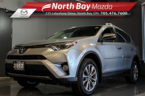 Pre-Owned 2017 Toyota Rav4 Limited AWD with Leather, Sunroof, Heated Seats