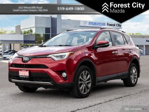 Pre-Owned 2016 Toyota RAV4 Limited | MOONROOF | KEYLESS ENTRY | NAV