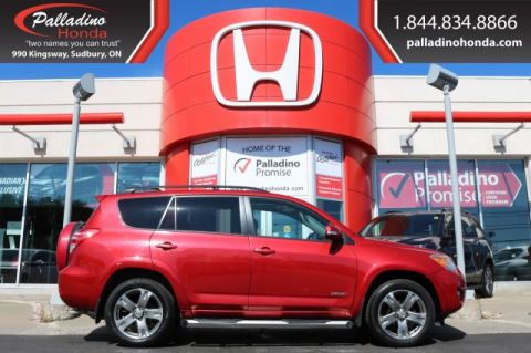 Pre-Owned 2010 Toyota RAV4 Sport-ALL WHEEL DRIVE,SUNROOF