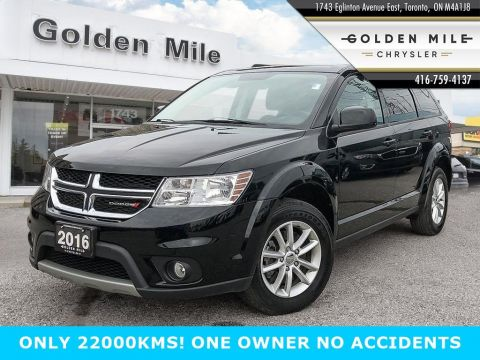 Certified Pre-Owned 2016 Dodge Journey SXT ONLY 22000KMS!