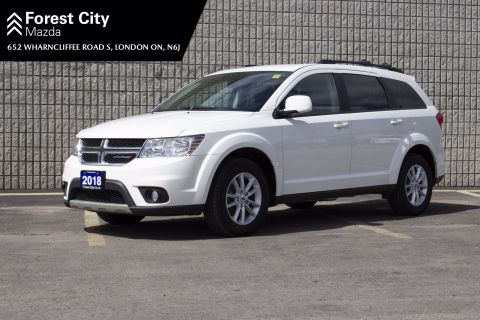Pre-Owned 2018 Dodge Journey SXT,7 PASSENGER, ALLOY WHEELS